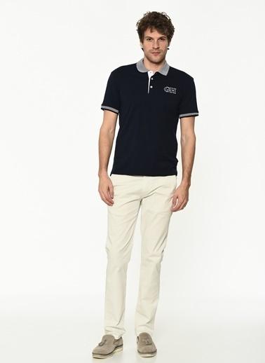 George Hogg Erkek 7004662 Slim Fit Tshirt Lacivert